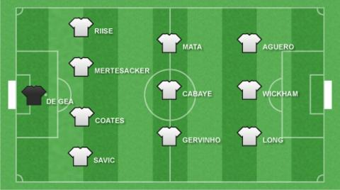 Newcomers XI