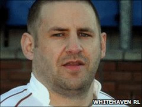 Whitehaven prop Paul Cullnean