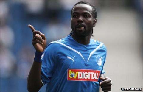 Ghana striker Prince Tagoe