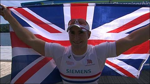 GB's Tom Aggar powers to fourth world gold