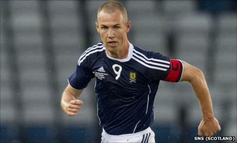Scotland striker Kenny Miller