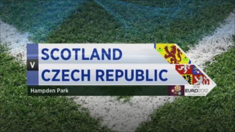 Highlights - Scotland 2-2 Czech Republic