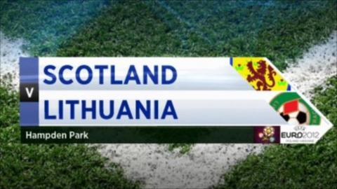 Scotland v Lithuania