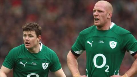 Brian O'Driscoll and Paul O'Connell
