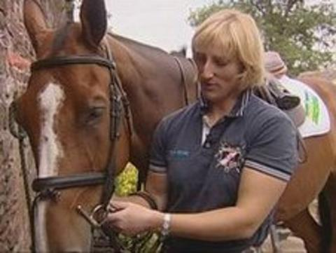 Cumbrian event rider Ruth Edge has dreams of making it to London 2012