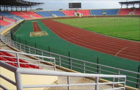 The Bata stadium in Equatorial Guinea