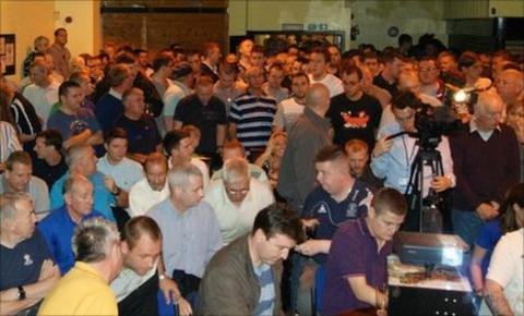 More than 400 fans attended The Blue Union's inaugral public meeting