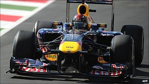 Sebastian Vettel's Red Bull