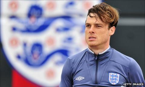 England and Spurs midfielder Scott Parker