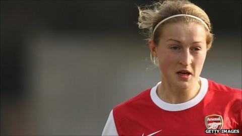 Arsenal's Ellen White