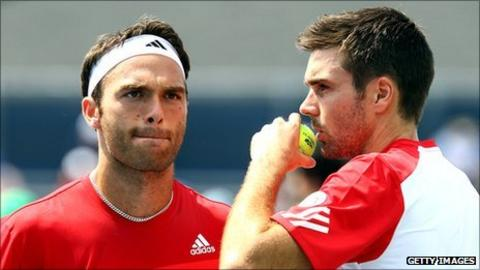 British doubles pairing Ross Hutchins and Colin Fleming