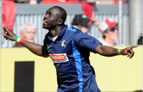Senegalese striker Papiss Demba Cisse
