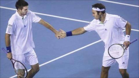 Colin Fleming and Ross Hutchings