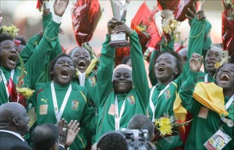 Cameroon women's team won gold