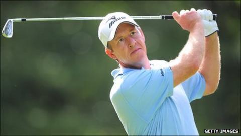 Golfer Gary Orr
