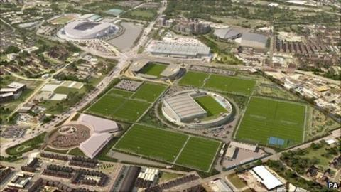 Manchester City's new training complex