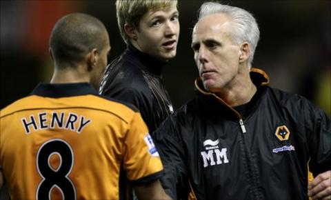 Mick McCarthy and Karl Henry