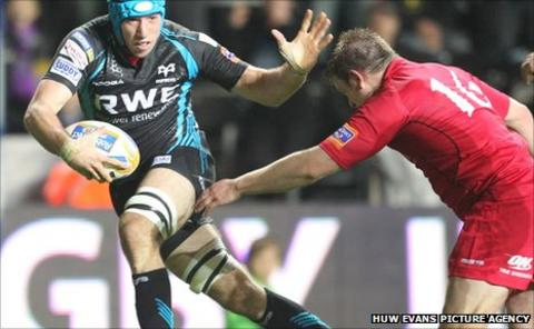 Justin Tipuric Ospreys Wales