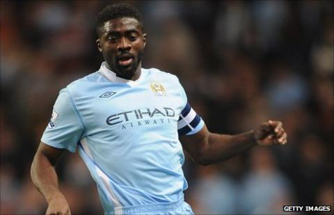 Ivory Coast and Manchester City's Kolo Toure
