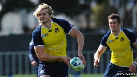 Richie Gray (left) is relishing the prospect of facing Argentina