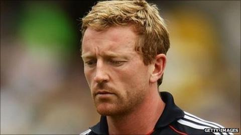 Durham cricketer Paul Collingwood fears for his England future
