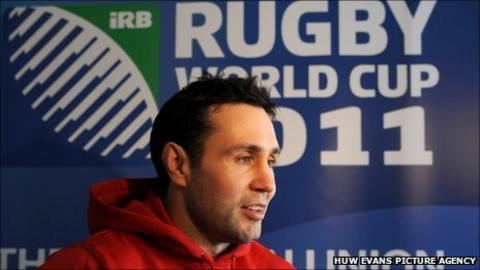 Fly-half Stephen Jones has had to wait a long while to win his 101st Wales cap
