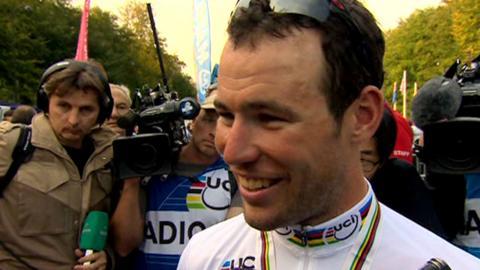 World champion Mark Cavendish