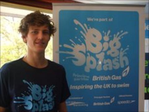 Cameron Davidson - poolside staff member at Wells