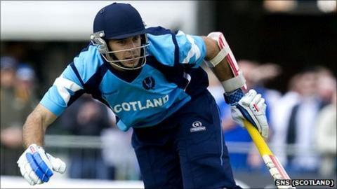 Scottish cricketer Kyle Coetzer