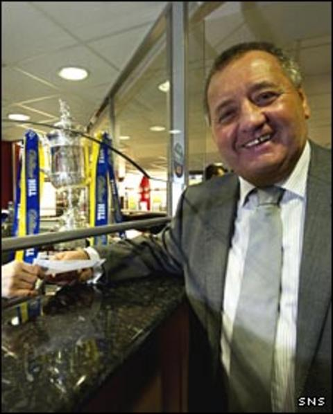 Former Aberdeen manager Jimmy Calderwood
