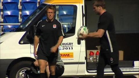 Jonny Wilkinson and the controversial Gilbert ball