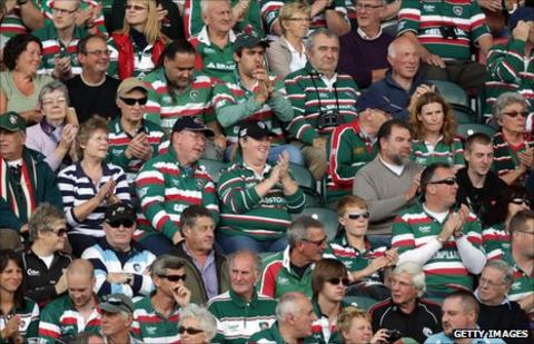 Leicester Tigers supporters