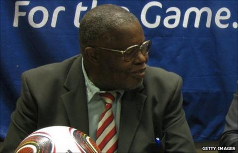 Ndumiso Gumede the vice-president of the Zimbabwe Football Association
