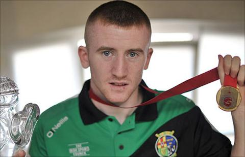 Belfast light-flyweight Paddy Barnes