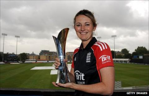Charlotte Edwards, captain of the England women's cricket team