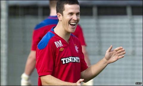 Rangers midfielder Matt McKay