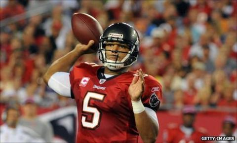 Tampa Bay quarterback Josh Freeman