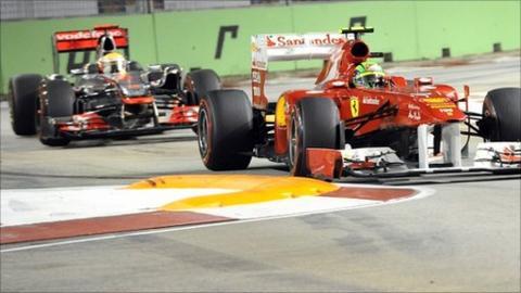 Hamilton and Massa