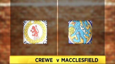 Highlights - Crewe 1-0 Macclesfield