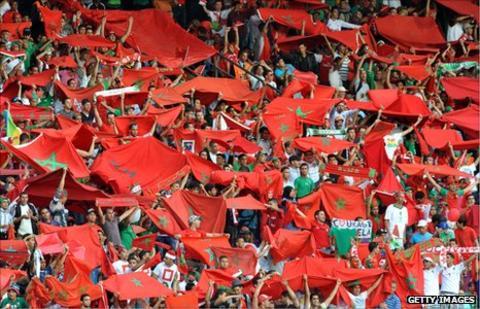 Moroccan fans
