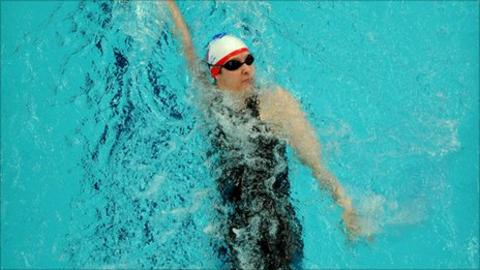 Paralympic swimmer Fran Williamson