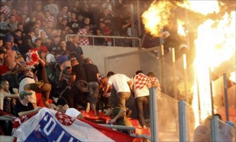 Georgios Karaiskakis Stadium in Piraeus