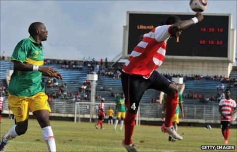 Liberia hold Mali in Monrovia