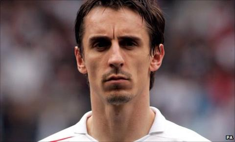 Gary Neville has critical on England's chances in Euro 2012