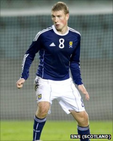 Scotland Under-21 midfielder David Wotherspoon