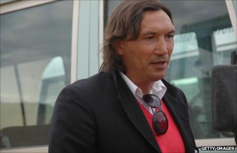 Italian coach Dario Bonetti