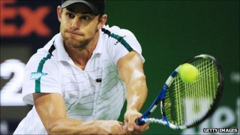 Andy Roddick at the Shanghai Masters