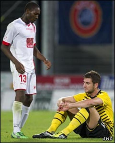 Sion defeat Celtic