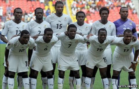 Ghana squad
