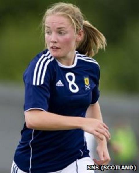 Scotland striker Kim Little